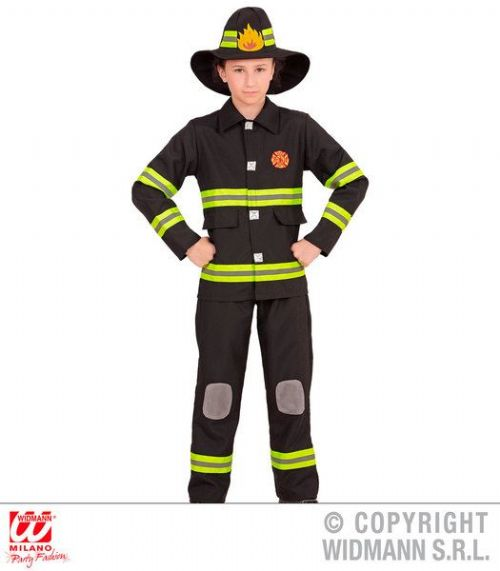 Childrens Firefighter Costume Firefighter Fancy Dress